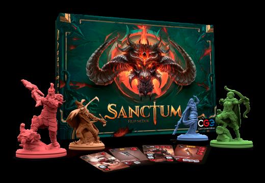 Letošní novou velkou hrou od CGE bude Sanctum