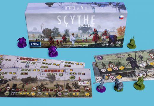 Invaze z dálek přináší do hry Scythe dvě nové frakce