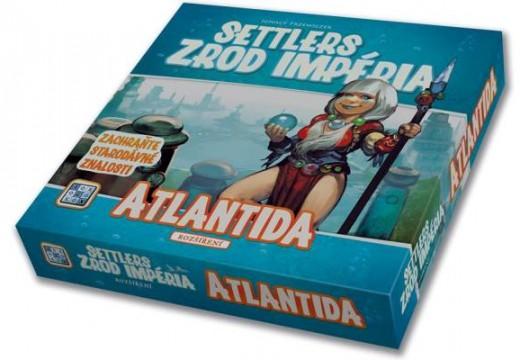 Atlantida je první velké rozšíření k Settlerům