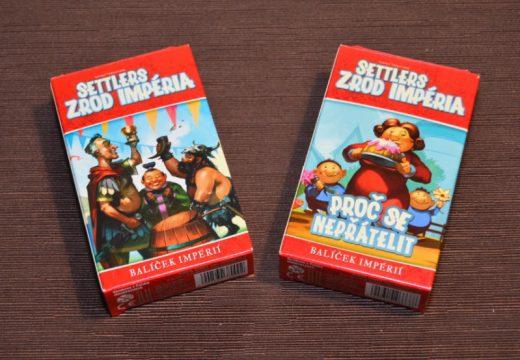 Balíčky Proč se nepřátelit a Síla trojice obohacují hru Settlers: Zrod impéria
