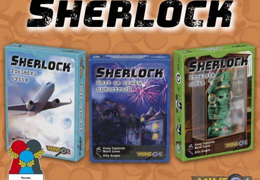 MindOK již má skladem hru Sherlock
