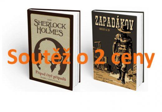 Soutěž o dva komiksové gamebooky Sherlock Holmes a Zapadákov