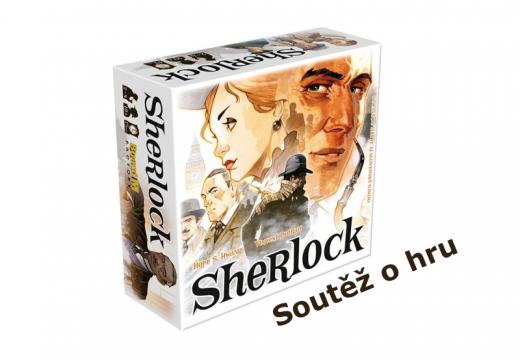 Soutěž o detektivní hru Sherlock