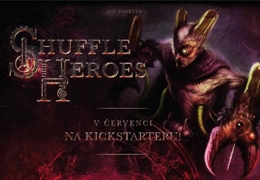 CBG připravuje karetní hru Shuffle Heroes