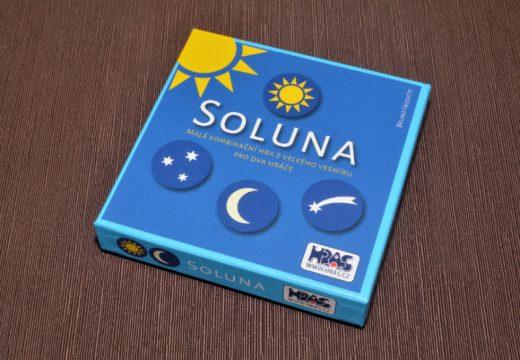 """Soluna je rychlá """"stohovací"""" hra pro dva"""