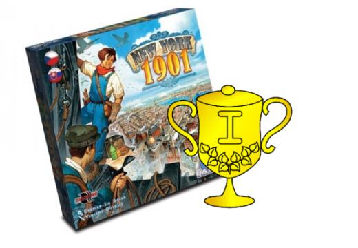Vyhlášení vítěze v soutěži o hru New York 1901