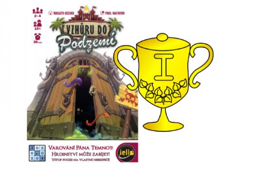 Vyhlášení vítěze v soutěži o hru Vzhůru do podzemí
