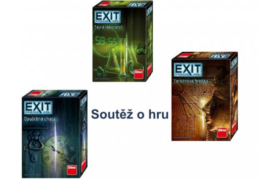Soutěž o hru EXIT: Úniková hra