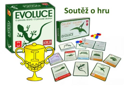 Vítěz soutěže o hru Evoluce: O původu druhů a rozšíření Čas létat