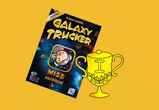 Vítěz soutěže o rozšíření hry Galaxy Trucker: Mise