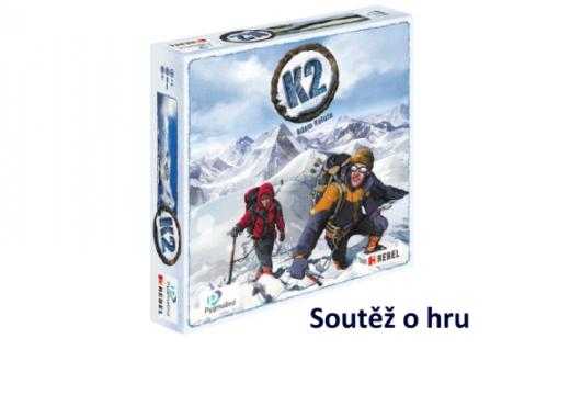 Soutěž o hru K2 simulující výstup na osmitisícovku