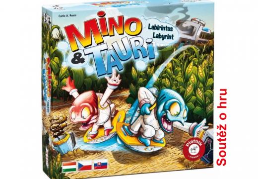 Soutěž o hru Mino&Tauri Labyrint