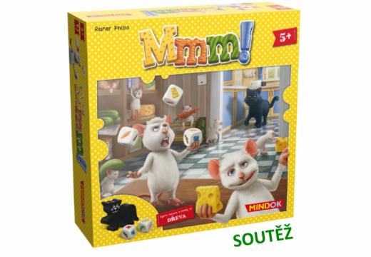 Soutěž o kooperativní rodinnou hru Mmm!