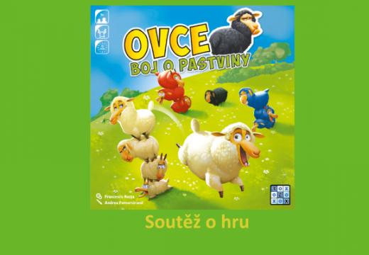 Soutěž o hru Ovce: Boj o pastviny