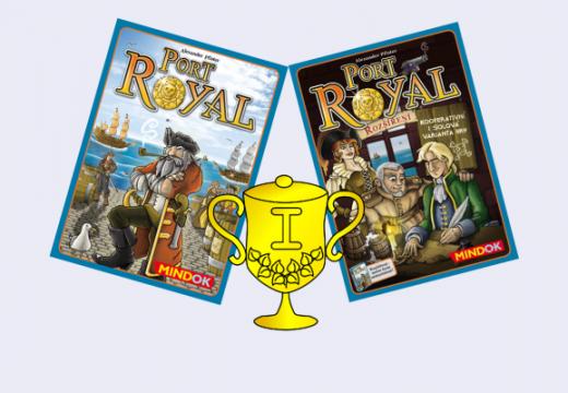 Vyhlášení vítěze v soutěži o hru Port Royal a nové rozšíření