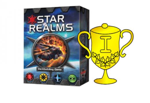 Vyhlášení vítěze v soutěži o hru Star Realms