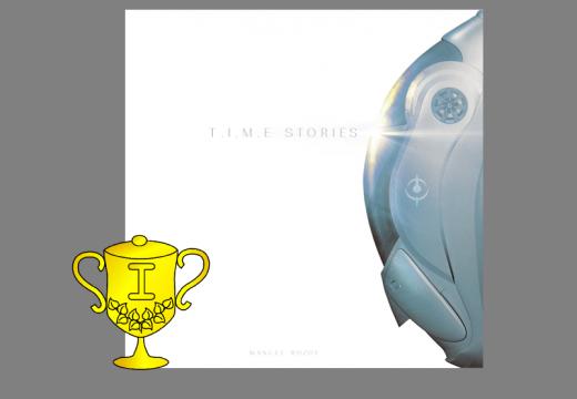 Vítěz v soutěži o hru T.I.M.E Stories
