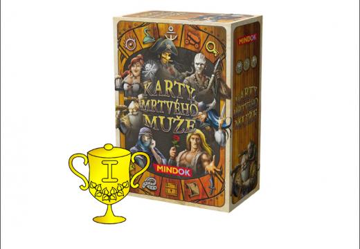 Vítěz v soutěži o hru Karty mrtvého muže