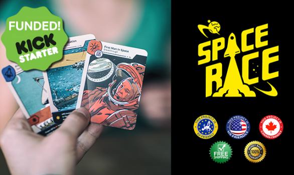 Česká karetní hra Space Race slaví úspěch na Kickstarteru