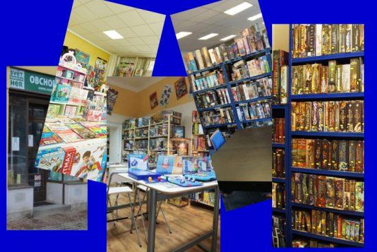 Výzva: Podpořte specializované obchody s deskovkami