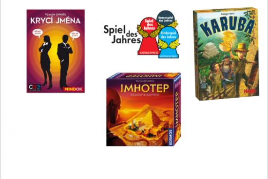 Jaké jsou nominace na cenu Spiel des Jahres 2016