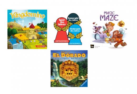Jaké jsou nominace na cenu Spiel des Jahres 2017
