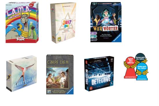 Jaké jsou nominace na cenu Spiel des Jahres 2019
