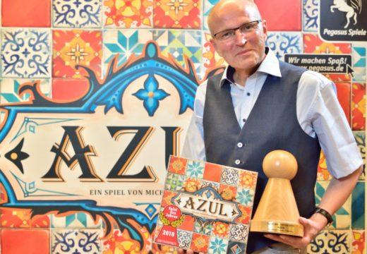 Cenu Spiel des Jahres 2018 má Azul