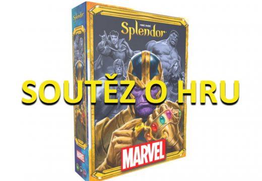 Soutěž o hru Splendor Marvel