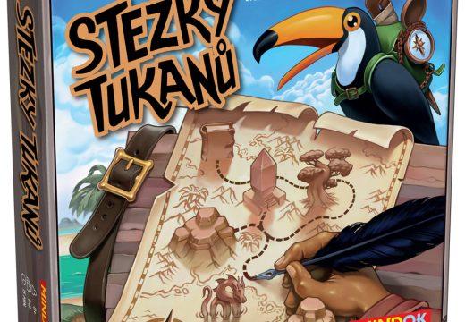 Stezky tukanů je novinka žánru flip&write