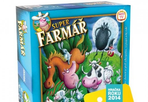 Soutěž o rodinnou hru Superfarmář de luxe