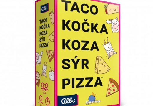 Zapamatujte si: taco, kočka, koza, sýr, pizza a hrajeme
