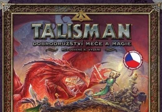 Soutěž o legendární hru Talisman
