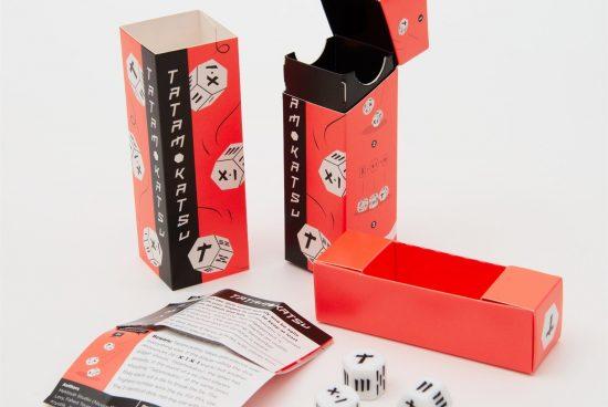 Vyzkoušejte Samurajské kostky, originální malou párty hru