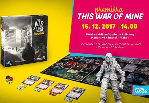 Pozvánka: Premiéra This War of Mine 16. prosince v Praze