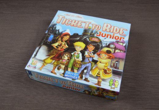Ticket to Ride Junior je ideální vláčková hra pro děti