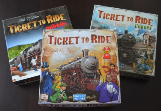 Recenze: Ticket to Ride