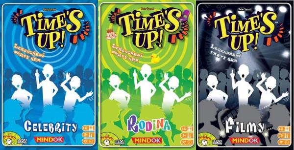 Nová edice párty hry Time´s Up