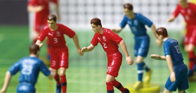 Fotbal v deskové podobě – To je fotbal