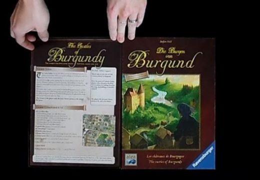 Pelly představuje hru Die Burgen von Burgund