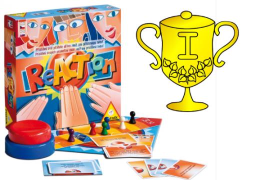 Vyhlášení vítěze v soutěži o hru ReACTion