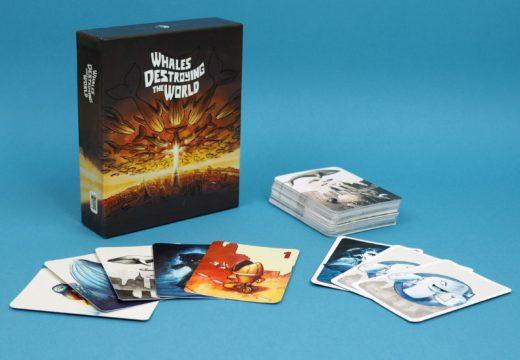 Na Kickstarteru můžete podpořit novou karetní hru Velryby ničí svět