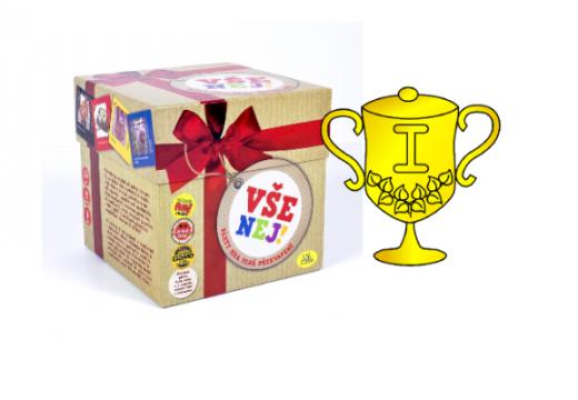 Vyhlášení vítěze v soutěži o hru Vše nej!
