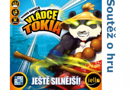 Soutěž o rozšíření hry Vládce Tokia: Ještě silnější!
