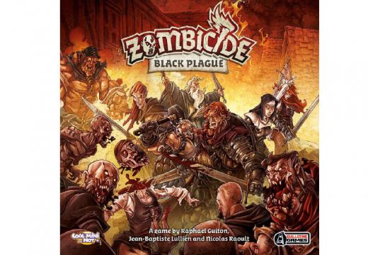 Blackfire vydá figurkovou kooperativní hru Zombicide: Černý mor