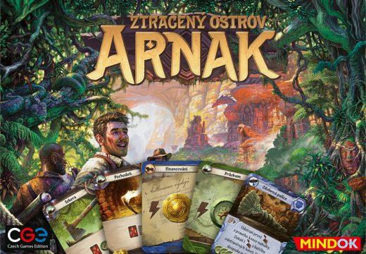 Výprava na Ztracený ostrov Arnak může začít