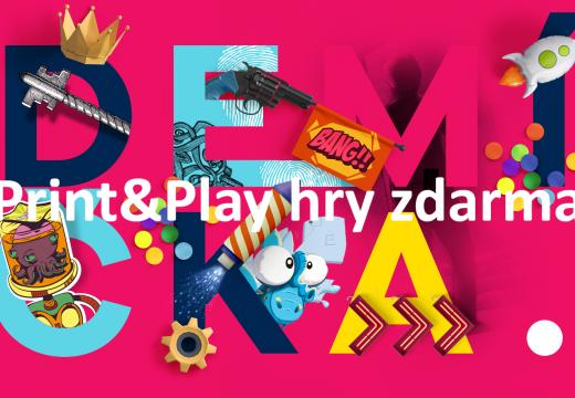 Tipy: Zahrajte si v čase karantény volně dostupné Print & Play hry