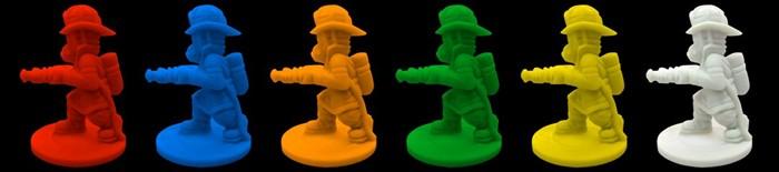 Figurky hasičů