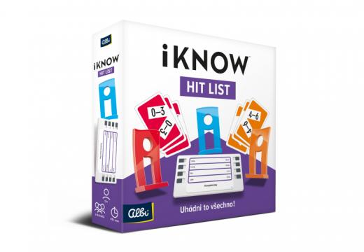 Znalostní hra iKNOW vyšla v nové edici Hit List