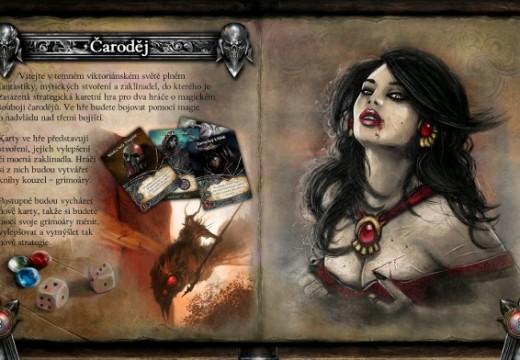 Otestujte karetní hru Čaroděj